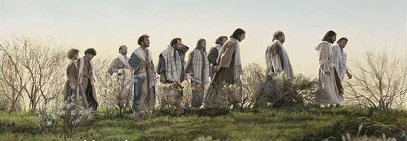 Christ and His Disciples