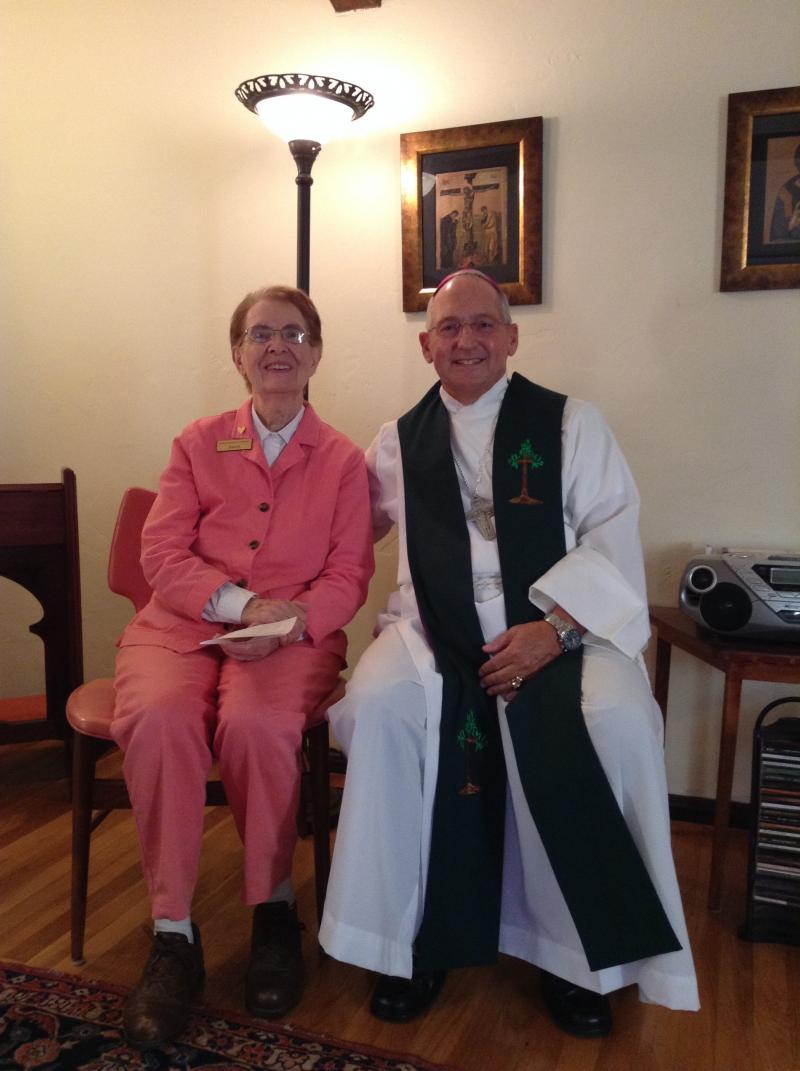 Sr. Joann and Dom Robert