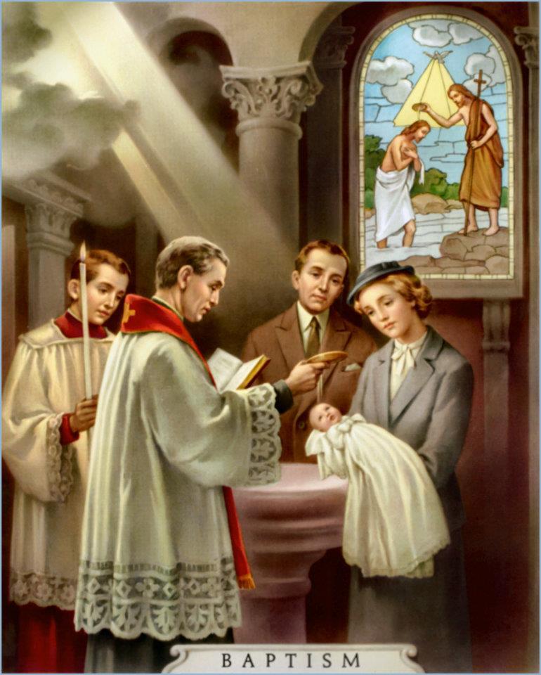 Chrystus przez chrzest wprowadza nas do Kościoła