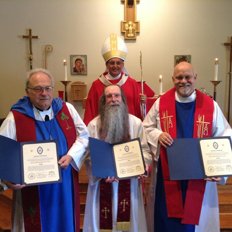 Three new priests!