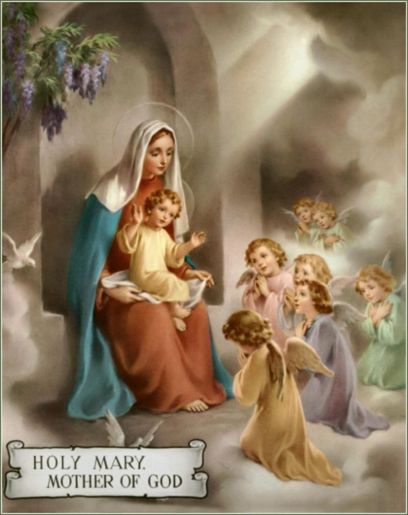 Order of the Most Holy Mary Theotokos - Is the Hail Mary Biblical?