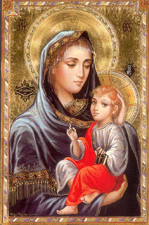 Virgin Mary with Child Jesus